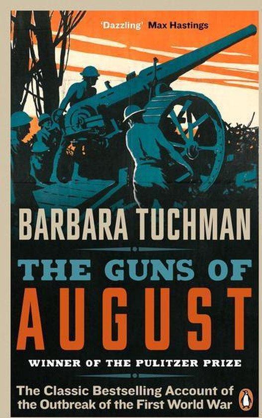 Boek cover The Guns of August van Barbara Tuchman (Onbekend)