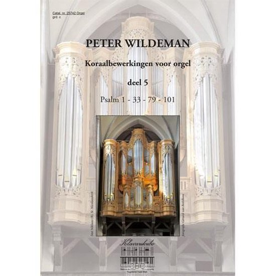 Wildeman, Koraalbew. voor orgel 5