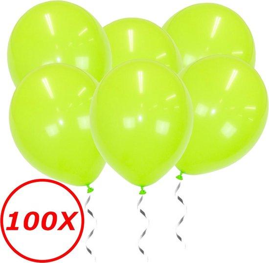 Lime Groene Ballonnen Verjaardag Versiering Groene Helium Ballonnen Feest Versiering Jungle Versiering - 100 Stuks