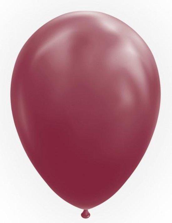 Globos Ballonnen 30,5 Cm Latex Bordeaux 50 Stuks