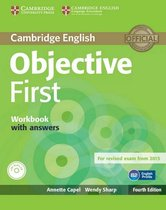 Objective First - 4th edition wb with answers + audio-cd