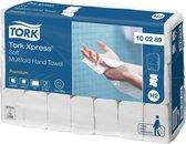 Tork Handdoek - H2 Premium - 2- laags - 21 x 150 stuks 100289 - Wit