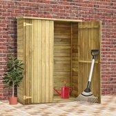 Bol.com-Medina Tuinschuur 123x50x171 cm geïmpregneerd grenenhout-aanbieding