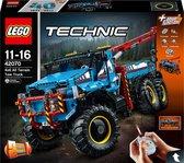 Bol.com-LEGO Technic 6x6 Allterrain-sleepwagen - 42070 - Zwart-aanbieding