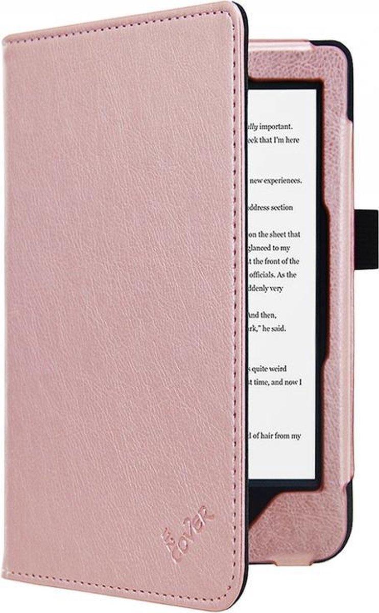 i12Cover - Luxe Premium Sleepcover voor Kobo Clara Hd - Rose-Goud