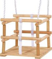 Eichhorn 100004502 Buiten Babyschommelzitje 1zitplaats(en) Hout babyswing