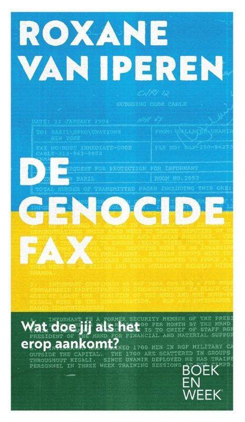 Omslag van De genocidefax