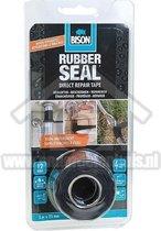Afbeelding van Bison rubber seal direct repair tape - 3 meter x 2 5 cm.