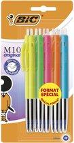 BIC Balpen M10 Original Fashion Colors - 10 stuks