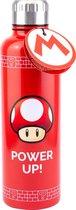 Paladone Nintendo Super Mario Power Up Drinkfles - 600ml - Rood