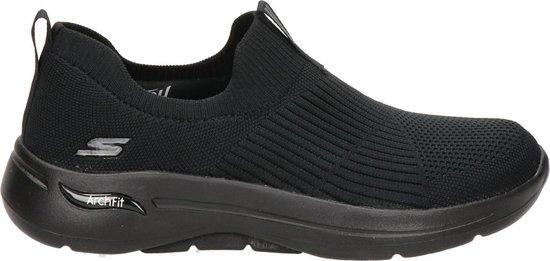 Skechers Go Walk Arch Fit Dames Sneakers – Black – Maat 38