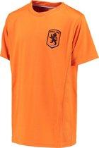 Katoenen Oranje kids t-shirt - maat 140 - maat 140