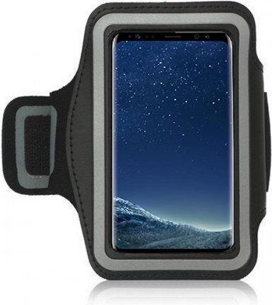 Iphone XS Max Sportband hoes Sport armband hoes Hardloopband Zwart Pearlycase