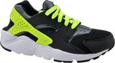 Nike Huarache Run Gs 654275-017, Vrouwen, Zwart, Sneakers maat: 40 EU