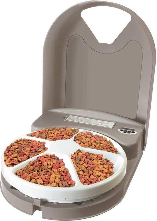 PetSafe - Eatwell - Automatische voerbak voor vijf maaltijden - BPA-vrij