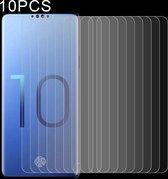 Let op type!! 10 PCS 0 26 mm 9H 2.5D explosieveilige getemperd glas Film voor Galaxy S10 Lite