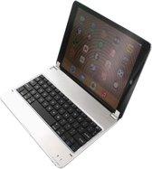 Clip-on Bluetooth toetsenbord voor Apple Ipad Air, luxe draadloos toetsenbord, handig werken zoals een laptop / MacBook, grijs , merk i12Cover