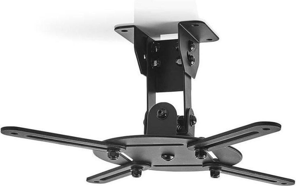Nedis PJCM100BK Plafondbeugel Voor Projector 360  Draaibaar Max. 10 Kg Afstand Tot De Muur Van 130 M