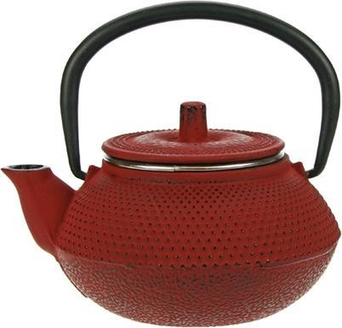 Cosy&Trendy Kobe Tea for One Theepot - 0.3 l - Gietijzer - Rood - Cosy&Trendy