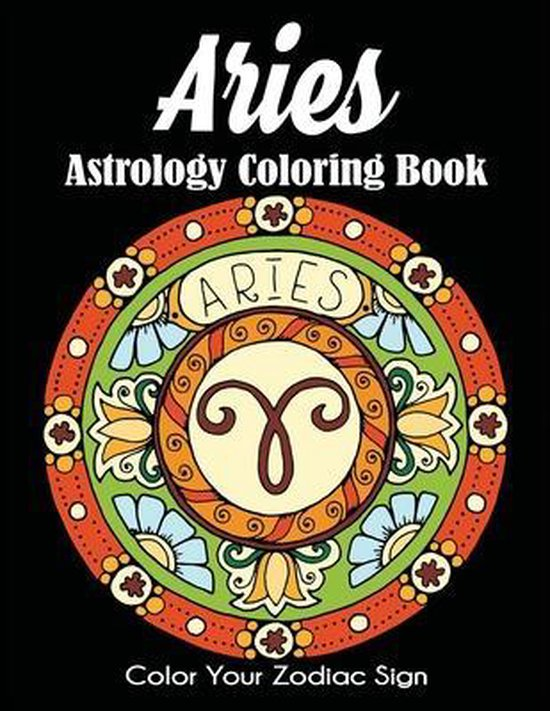 Aries Astrology Coloring Book