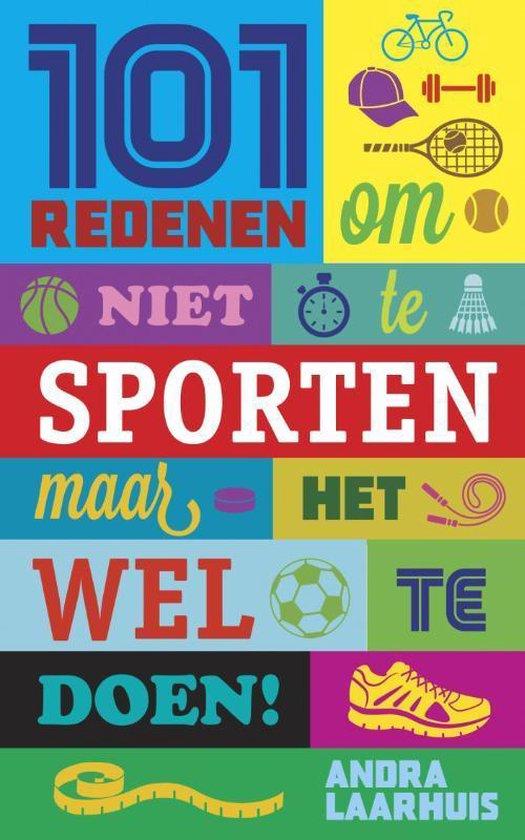 Cover van het boek '101 redenen om niet te sporten'