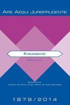 Boek cover Ars Aequi Jurisprudentie  -   Jurisprudentie Publiekrecht 1879-2014 van
