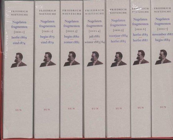 Boek cover Nagelaten fragmenten van Friedrich Nietzsche (Paperback)