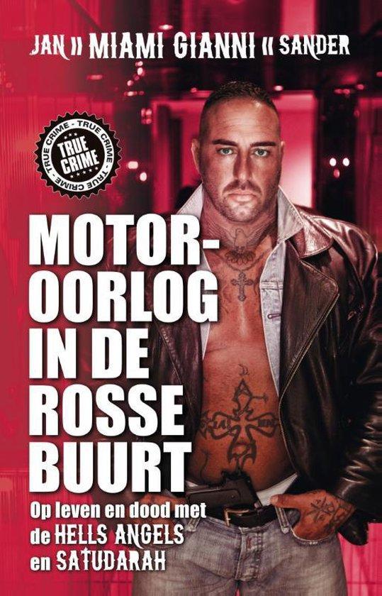 Boek cover Motoroorlog in de rosse buurt van Jan Sander