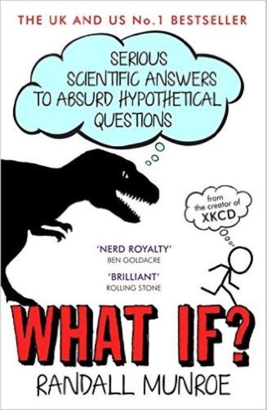 Boek cover What If? van Randall Munroe (Paperback)