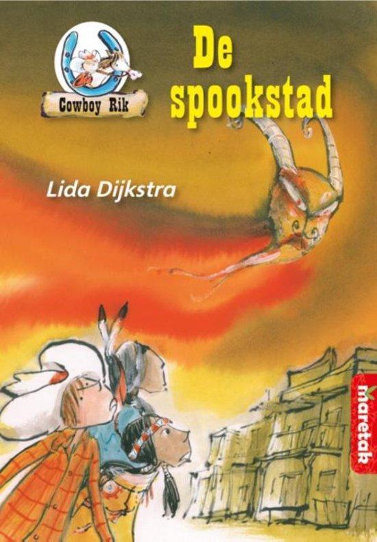 Boek cover Boemerang  -   De spookstad van Lida Dijkstra (Hardcover)