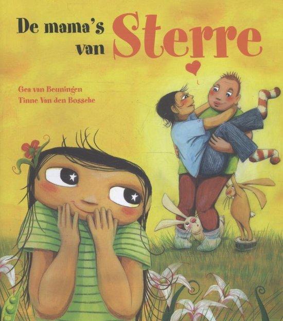 Cover van het boek 'De mama's van Sterre' van Gea van Beuningen