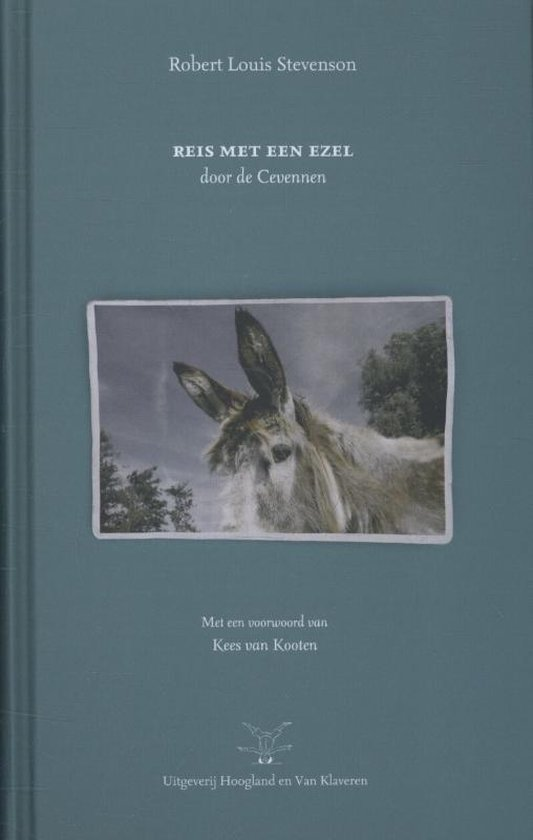 Boek cover Reis met een ezel van R.L. Stevenson (Hardcover)