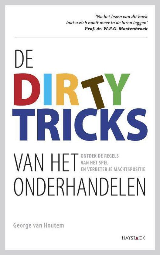 Boek cover De dirty tricks van het onderhandelen van George van Houtem (Paperback)