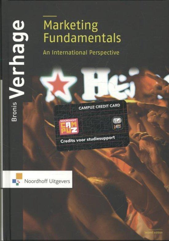 Boek cover Marketing Fundamentals van Bronis Verhage (Paperback)