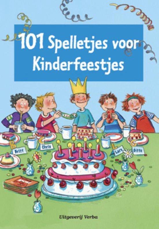 Cover van het boek '101 spelletjes voor kinderfeestjes' van  Nvt