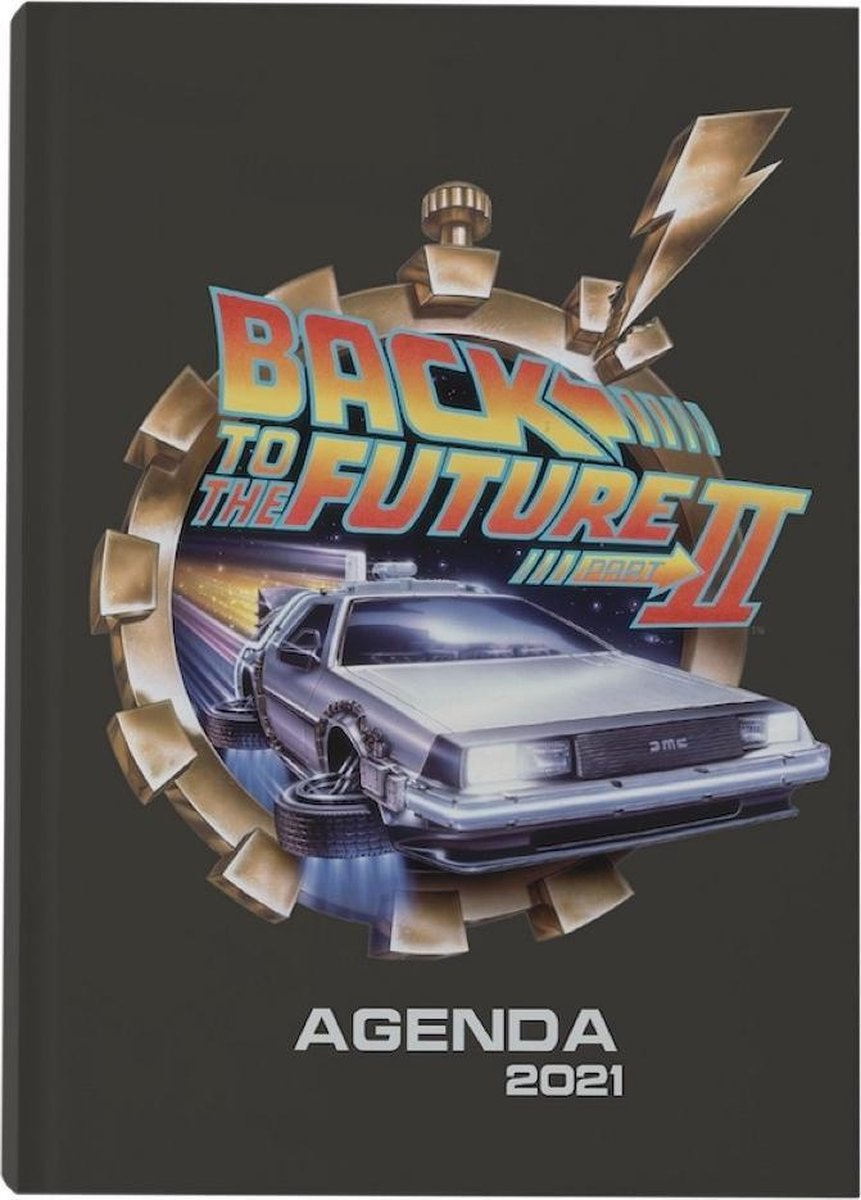 Back to the Future 2: Flying DeLorean 2021 Planner