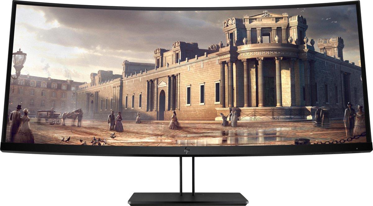 Z38c 95,2 cm (37.5) 3840 x 1600 Pixels Ultra-Wide Quad HD+ LED Zwart