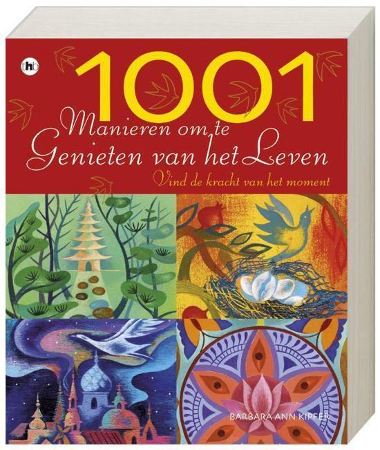 Cover van het boek '1001 manieren om te genieten van het leven' van B> Kipfer