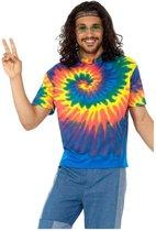 Hippie Shirt Tie Dye Heren | maat L