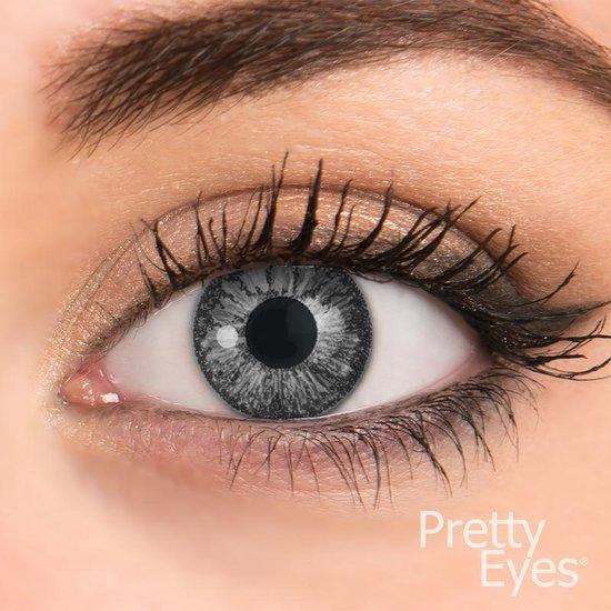 Pretty eyes daglens parelgrijs 2 stuks - Kleurlenzen - Pretty Eyes