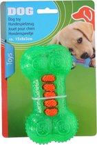 Tom Hondenbot 15 X 8 Cm Rubber Groen