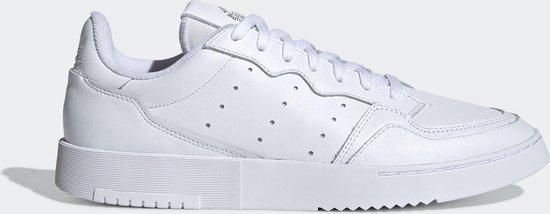 adidas Supercourt Heren Sneakers - Ftwr White/Ftwr White/Core Black - Maat 44