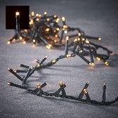 Luca Lighting kerstverlichting lichtsnoer - buiten - 700 lampjes extrawarm wit - flashfunctie - 1400 cm