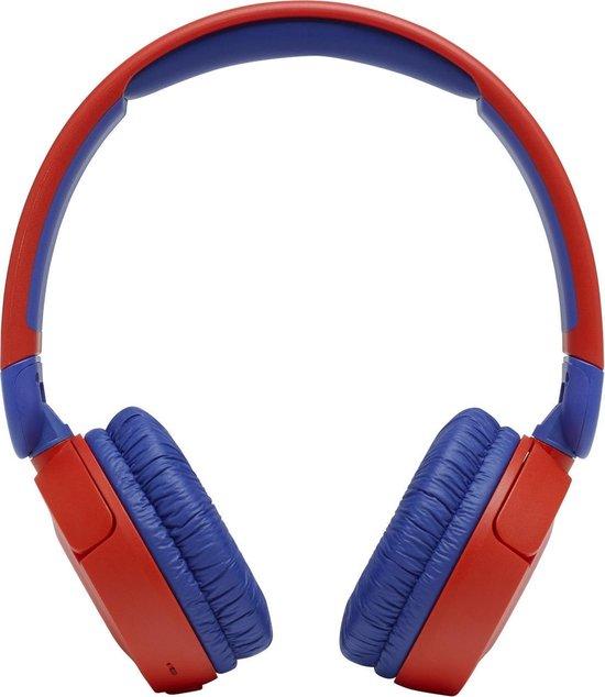 JBL JR310BT Kids - Rood/Blauw - Draadloze On-Ear Koptelefoon