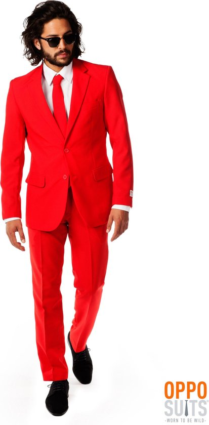 OppoSuits Red Devil - Kostuum - Maat 48