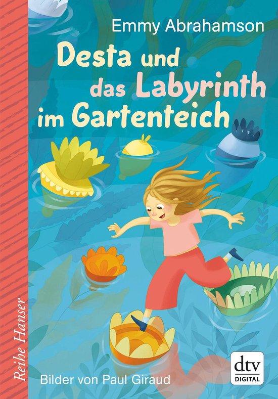 Boek cover Desta und das Labyrinth im Gartenteich van Emmy Abrahamson (Onbekend)