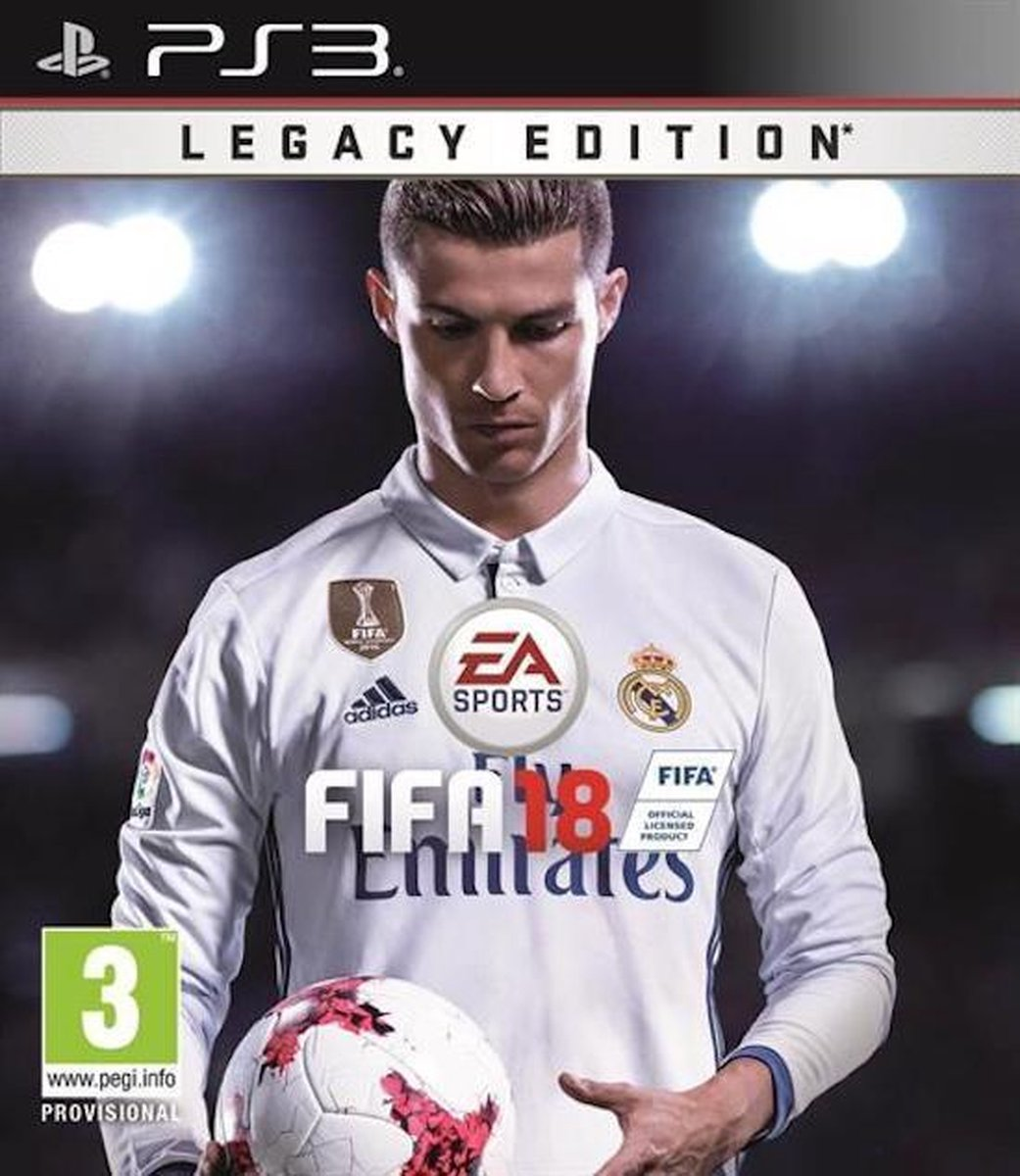 FIFA 18 - Legacy Edition - PS3 (EN/AR Cover) - Electronic Arts