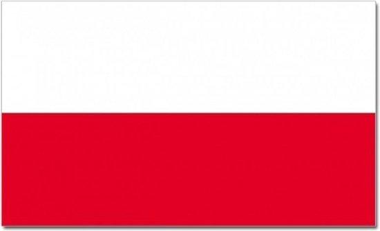 Luxe vlag Polen 100 x 150 cm