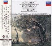 Mstislav Rostropovich & Benjamin Britten – Schubert /