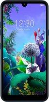 """LG Q60 15,9 cm (6.26"""") 3 GB 64 GB Dual SIM 4G Micro-USB Blauw Android 9.0 3500 mAh"""